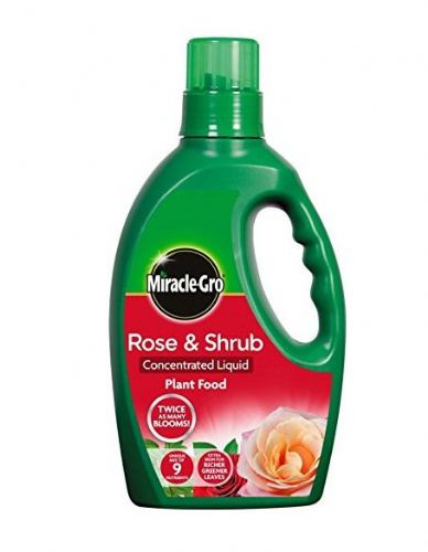 Miracle Grow Rose & Shrub Concentrated Liquid Plant Food 1ttr
